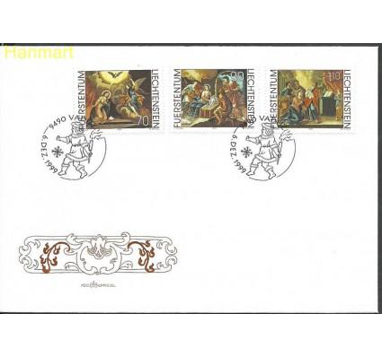 Znaczek Liechtenstein 1999 Mi 1217-1219 FDC