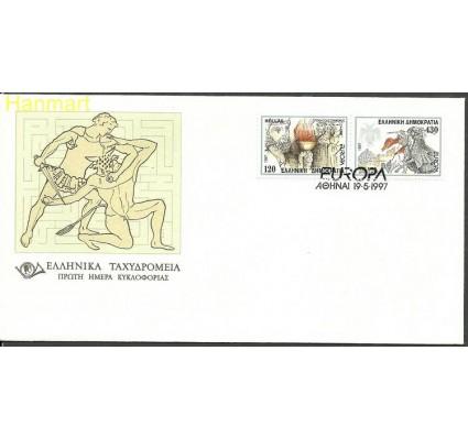 Znaczek Grecja 1997 Mi 1946-1947 FDC