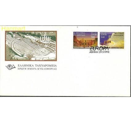 Znaczek Grecja 1998 Mi 1978-1979 FDC