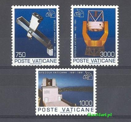 Watykan 1991 Mi 1040-1042 Czyste **