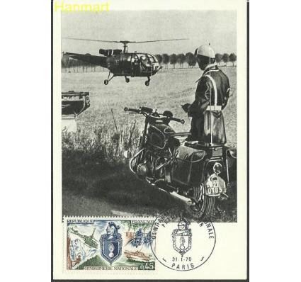 Znaczek Francja 1970 Mi 1695b Karta Max