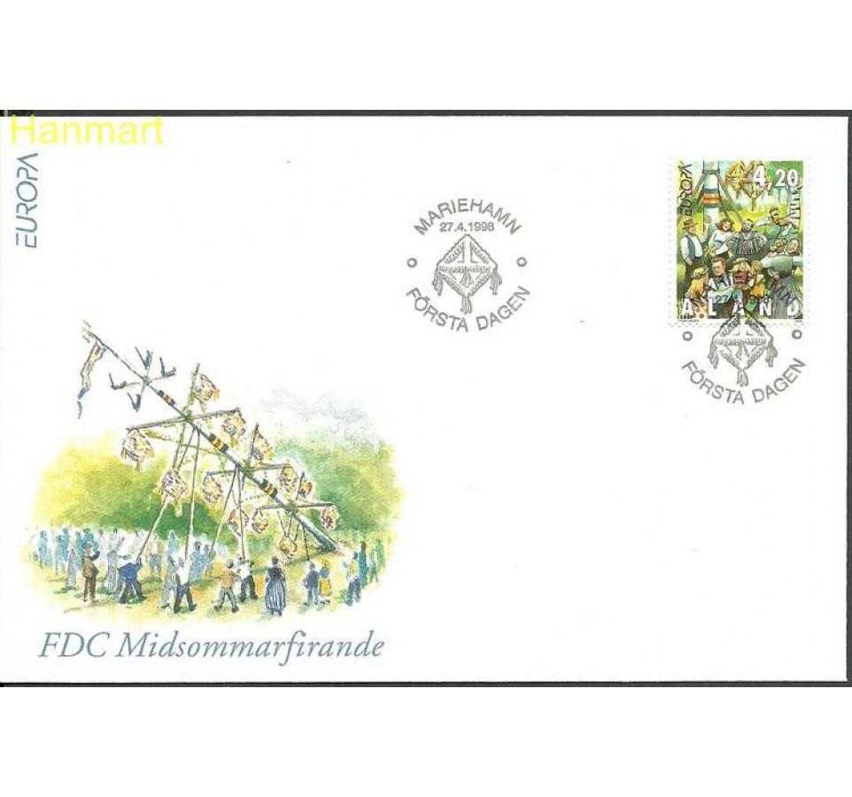 Wyspy Alandzkie 1998 Mi 140 FDC