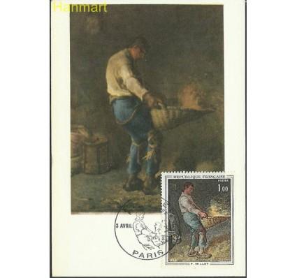 Znaczek Francja 1971 Mi 1744 Karta Max