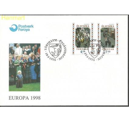 Znaczek Wyspy Owcze 1998 Mi 338-339 FDC
