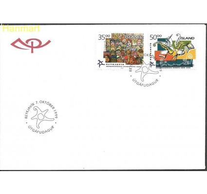 Znaczek Islandia 1999 Mi 925-926 FDC