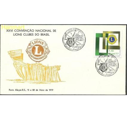 Znaczek Brazylia 1977 Mi 1586j FDC