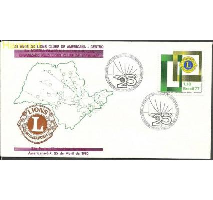 Znaczek Brazylia 1977 Mi 1586m FDC
