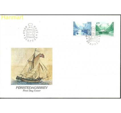 Znaczek Norwegia 1998 Mi 1280-1281 FDC