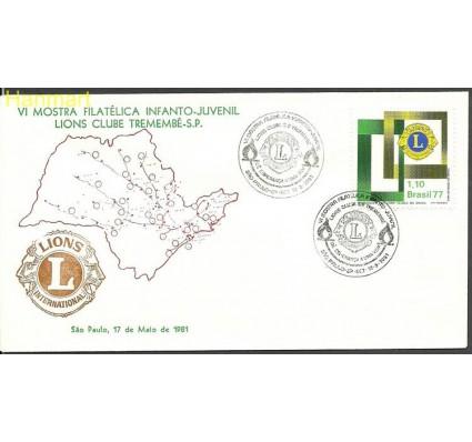 Znaczek Brazylia 1977 Mi 1586n FDC