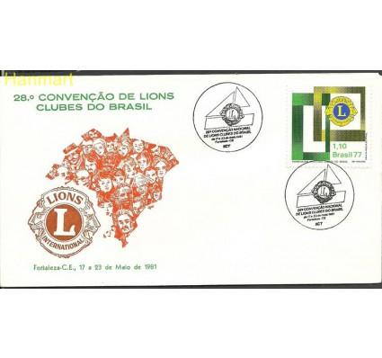Znaczek Brazylia 1977 Mi 1586o FDC