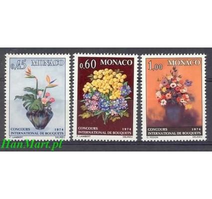 Monako 1973 Mi 1104-1106 Czyste **