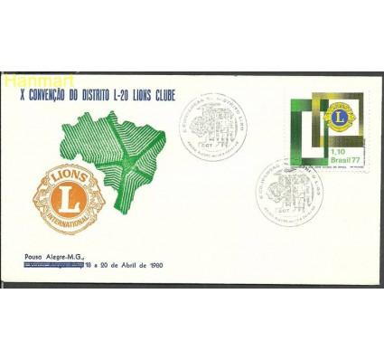Znaczek Brazylia 1977 Mi 1586q FDC
