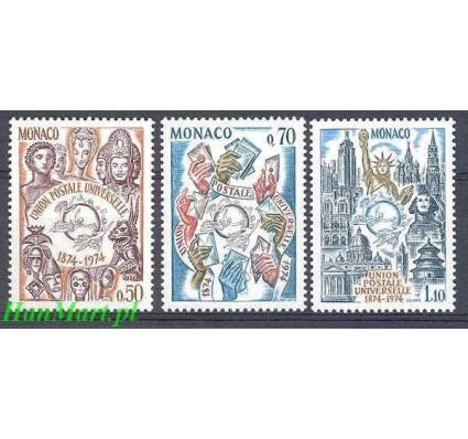 Znaczek Monako 1974 Mi 1110-1112 Czyste **