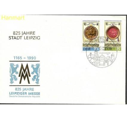 Znaczek NRD / DDR 1990 Mi 3316-3317 FDC