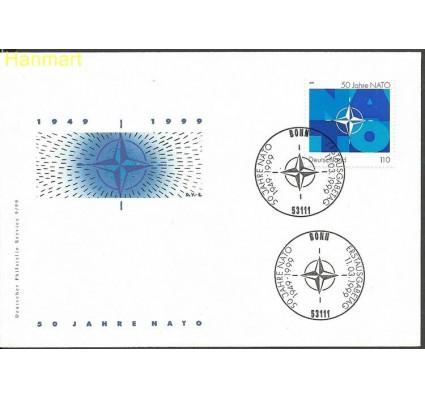 Znaczek Niemcy 1999 Mi 2039 FDC
