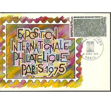 Znaczek Francja 1975 Mi 1914 Karta Max