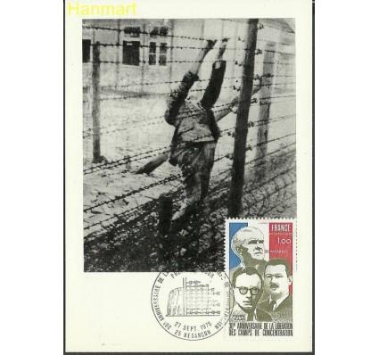 Znaczek Francja 1975 Mi 1932a Karta Max