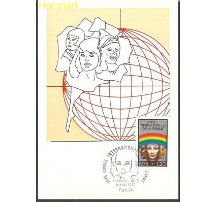 Znaczek Francja 1975 Mi 1937a Karta Max