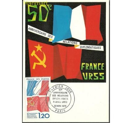 Znaczek Francja 1975 Mi 1941b Karta Max