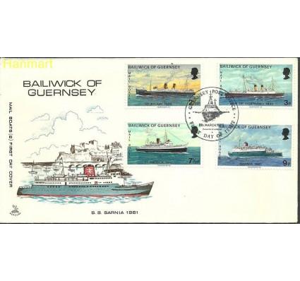 Znaczek Guernsey 1973 Mi 75-78 FDC