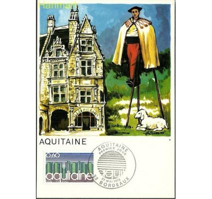 Znaczek Francja 1976 Mi 1964b Karta Max