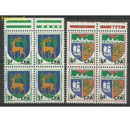 Znaczek Reunion 1964 Mi marvie432-433 Czyste **
