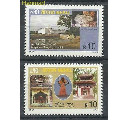 Znaczek Nepal 2004 Mi 800-801 Czyste **