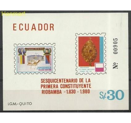 Znaczek Ekwador 1980 Mi bl 97 Czyste **