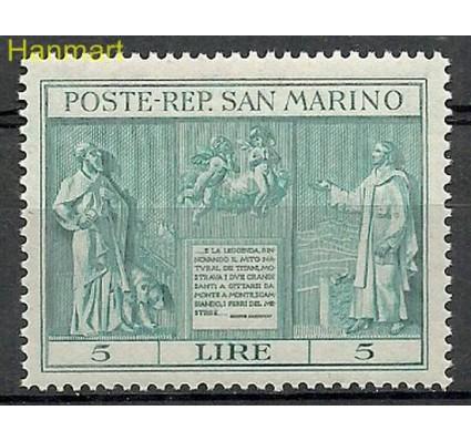 Znaczek San Marino 1937 Mi 234 Czyste **