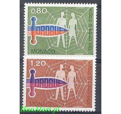 Monako 1976 Mi 1246-1247 Czyste **