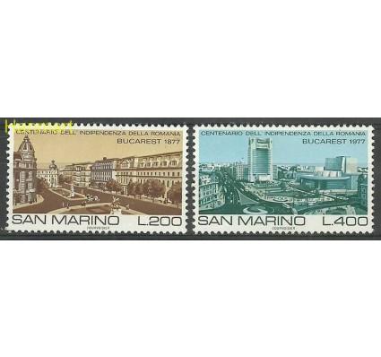 Znaczek San Marino 1977 Mi 1145-1146 Czyste **