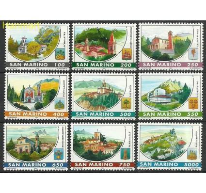 Znaczek San Marino 1997 Mi 1704-1712 Czyste **