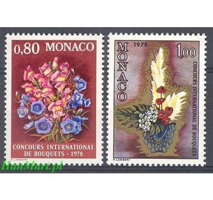 Monako 1977 Mi 1290-1291 Czyste **