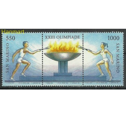 Znaczek San Marino 1984 Mi 1298-1299 Czyste **