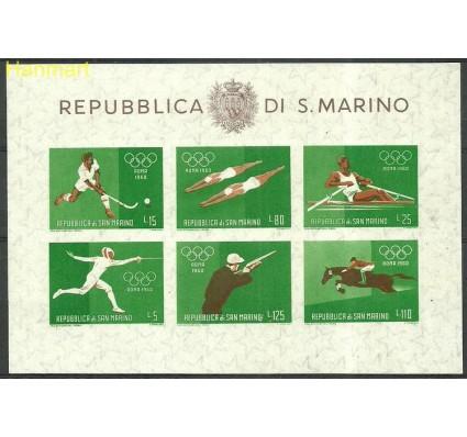 Znaczek San Marino 1960 Mi bl 7 Czyste **