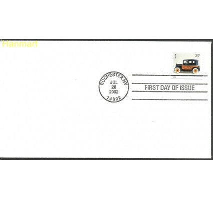 Znaczek USA 1999 Mi 3590BD FDC