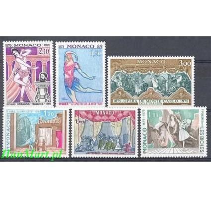 Monako 1979 Mi 1384-1389 Czyste **