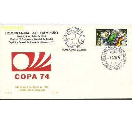 Znaczek Brazylia 1974 Mi 1445b FDC