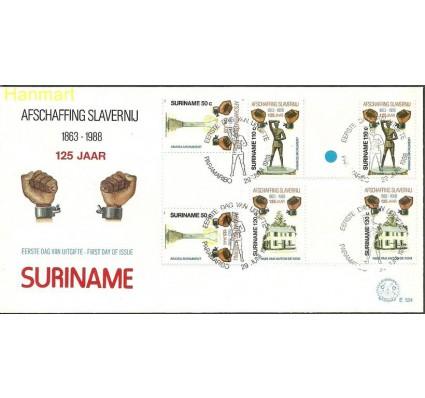 Znaczek Surinam 1988 Mi gut1268-1270g FDC