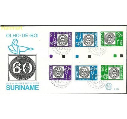 Znaczek Surinam 1993 Mi gut1450-1452c FDC