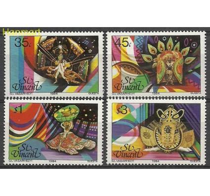 Znaczek St. Vincent 1984 Mi 724-727 Czyste **