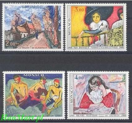 Znaczek Monako 1980 Mi 1437-1440 Czyste **