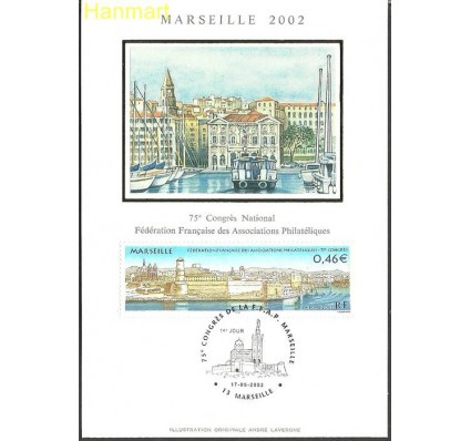Znaczek Francja 2002 Mi S3626 Karta Max