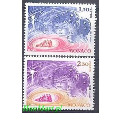 Znaczek Monako 1980 Mi 1445-1446 Czyste **