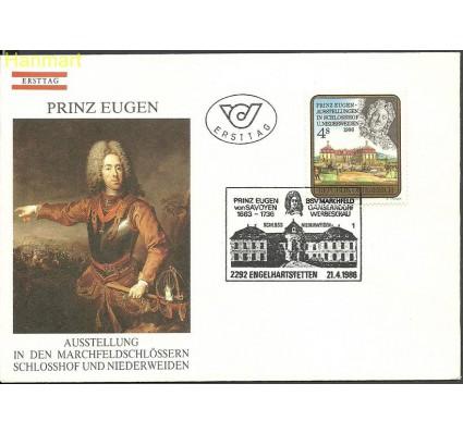 Znaczek Austria 1986 Mi 1845 FDC