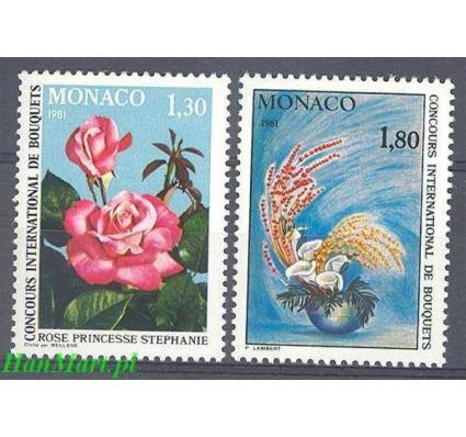Znaczek Monako 1980 Mi 1447-1448 Czyste **