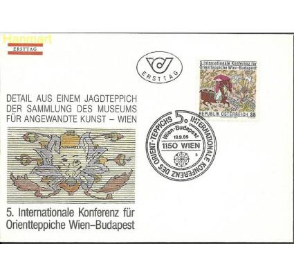 Znaczek Austria 1986 Mi 1862 FDC