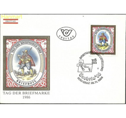 Znaczek Austria 1986 Mi 1869 FDC