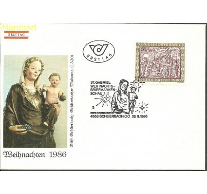 Znaczek Austria 1986 Mi 1870 FDC