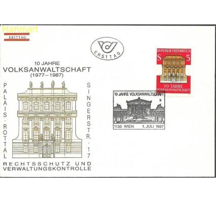 Znaczek Austria 1987 Mi 1891 FDC
